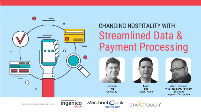 Streamlined Data & Payment Processing Webinar