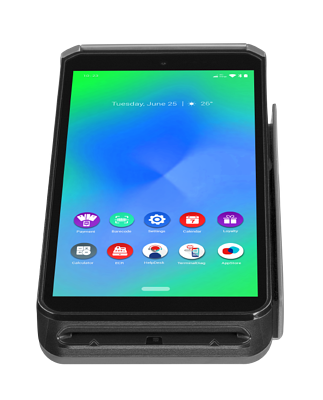 AXIUM DX 8000 smartcard view