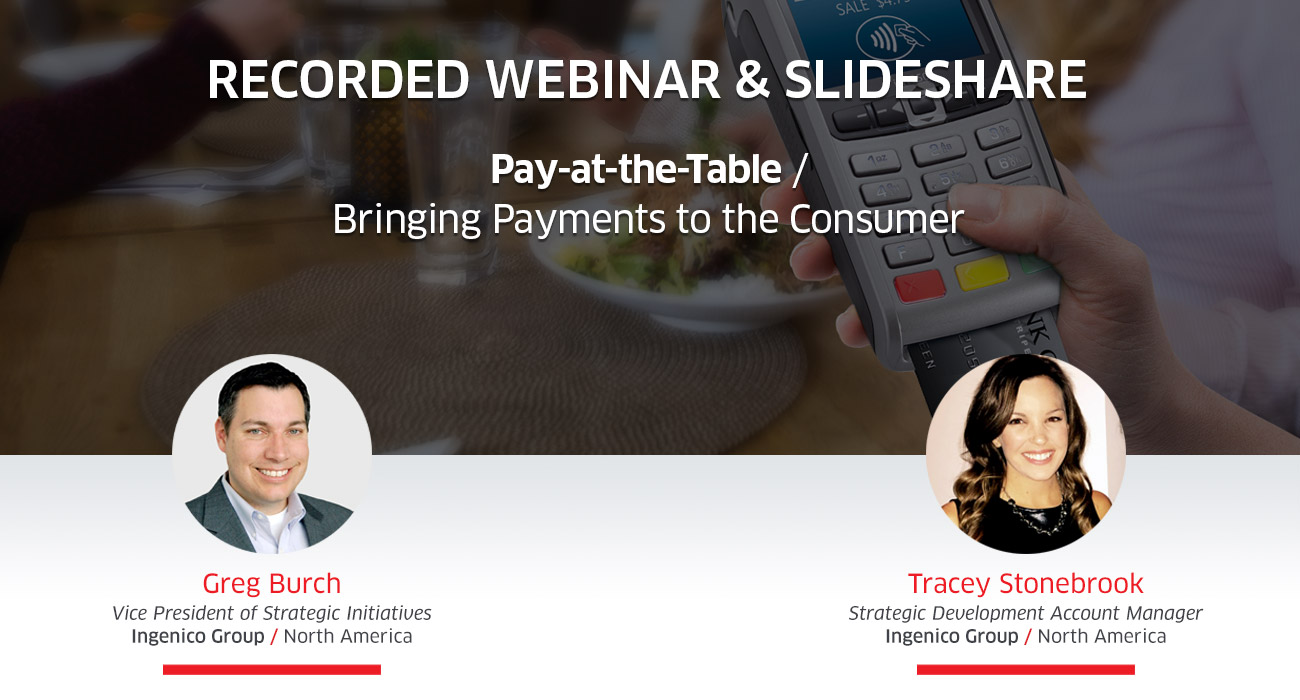 Pay at the Table Webinar Recording